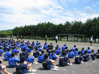 5月27日(水) 避難訓練・地区生徒会